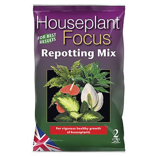 Houseplant Focus Repotting Mix 2 Ltr