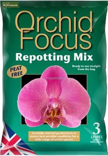 Orchid Focus Repotting Mix 3 Ltr