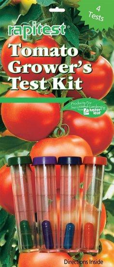 Rapitest Bodentestkit für Tomaten 4X