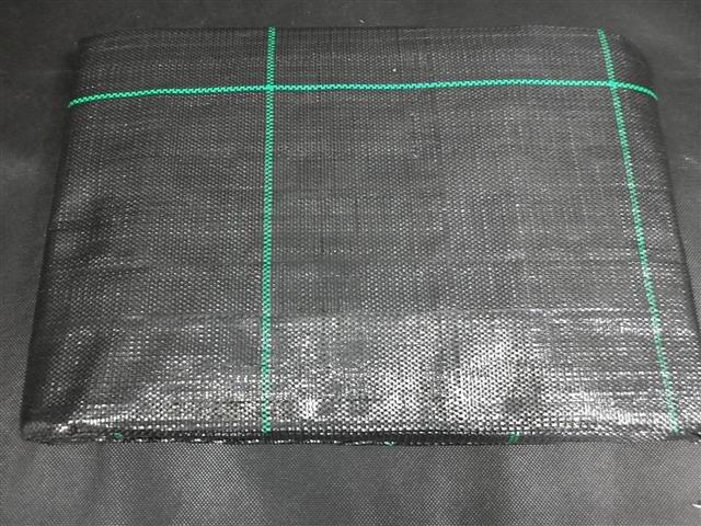 Anti-Unkrautfolie-Unkrautschutzfolie- Bändchengewebe- Mulchfolie - 4 x 5 Mtr