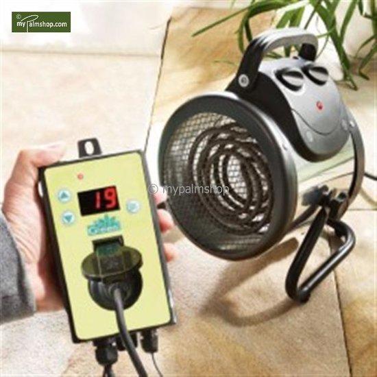 Elektro-Gebläseheizung 'Palma' (Thermostat Digital)
