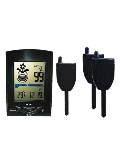 Kabeloses Bodenfeuchte und Temperaturmessgerät