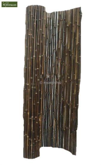 Bambusmatte schwarz 150cm x 180cm