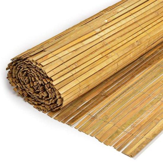 Bambusmatte, gespalten 100cm x 500cm