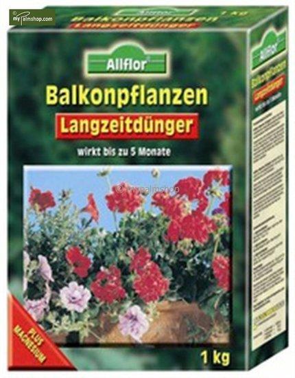 Balkonpflanzendünger mit Langzeitwirkung