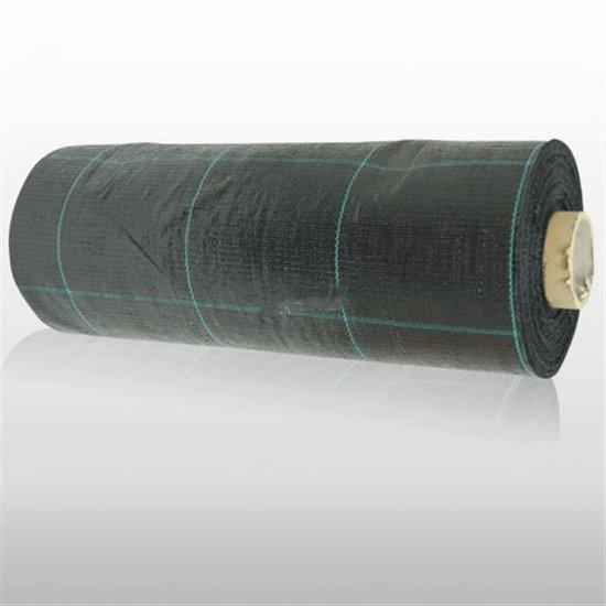 Anti-Unkrautfolie-Unkrautschutzfolie- Bändchengewebe- Mulchfolie - 100 Mtr. x 2 Mtr (200m²) [Palette]
