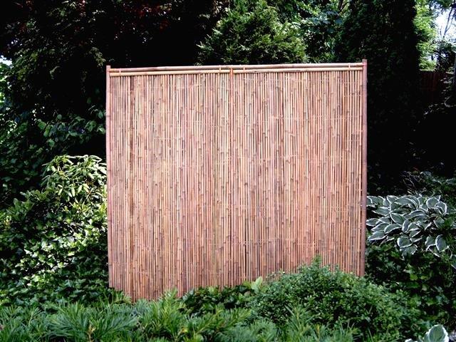 Bambuszaun Recht 90cm x 180cm [Palette]