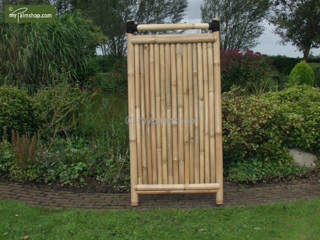 Bambuszaun Teppan 90cm x 180cm Luxe Standard [Palette]