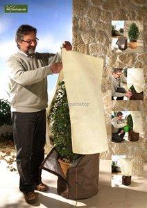 Winterschutz für Pflanzen quadratisch 100 x 80 cm