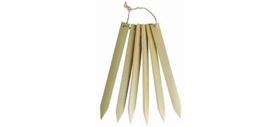 25 x Eko Labels für Bambus